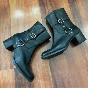 Harley Davidson Black leather boots 10 D84068